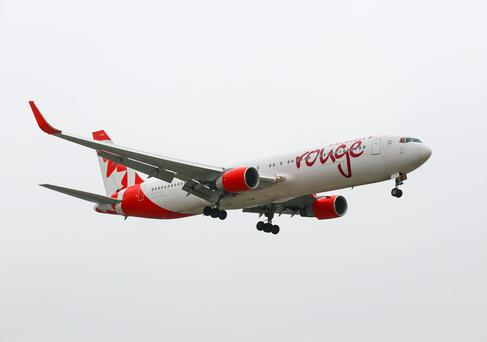 Air Canada Rouge (Boeing 767-300ER). Photo: Deposit