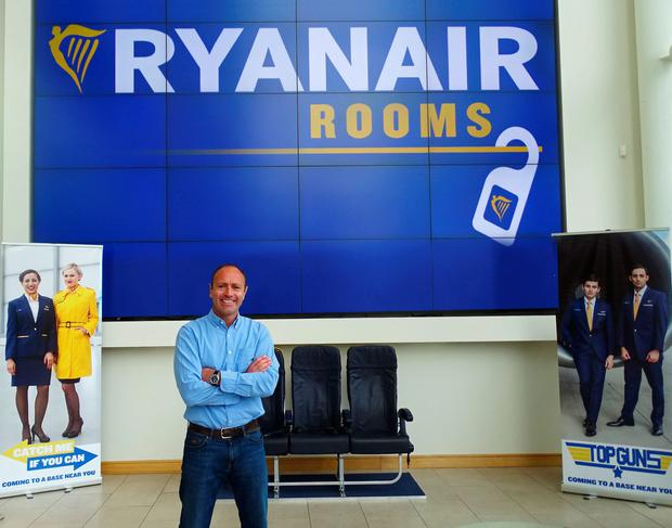 Kenny Jacobs, Ryanair's Chief Marketing Officer