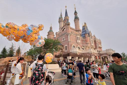 Shanghai Disneyland Park. Photo: Marcio Machado/Getty Images