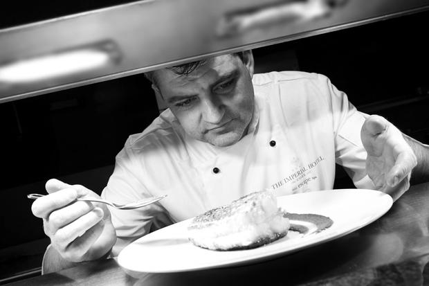 Nicky Foley, executive chef at the Imperial Hotel, Cork