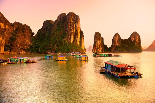 Halong Bay, Vietnam. Photo: Deposit
