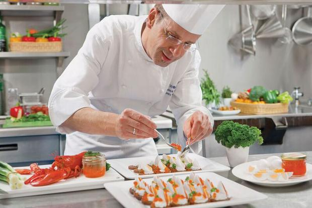 Chef on SS Catherine