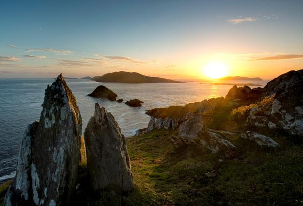 The Blasket Islands from Dunmore Head. Photo: Fáilte Ireland