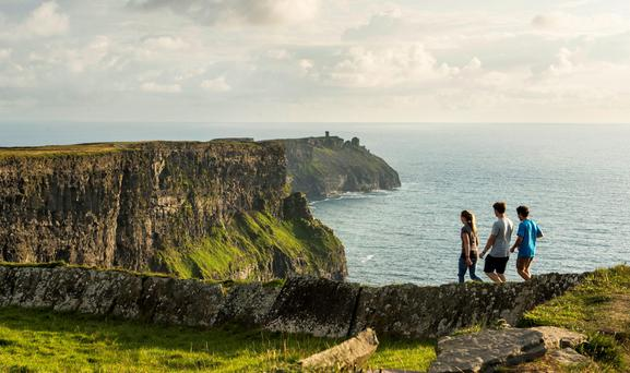 Cliffs of Moher, Co. Clare, Ireland. Photo: Christopher Hill/Failte Ireland