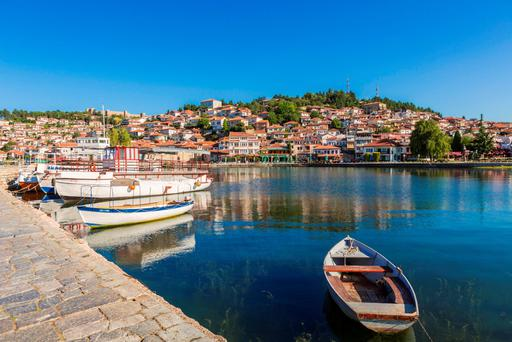 UNESCO World Heritage Site: Ohrid, Macedonia