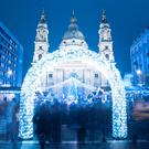 Christmas markets in St. Stephen's Basilica Square, Budapest. Photo: Deposit