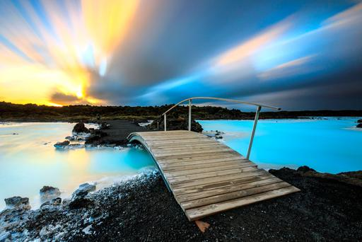 Blue Lagoon, Iceland. Photo: Getty