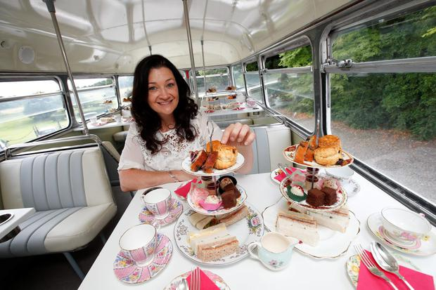 Karen Nixon of Vintage Tea Tours. Picture: Conor McCabe Photography