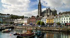 Cobh, Port of Cork. Photo: Chris Hill/Fáilte Ireland