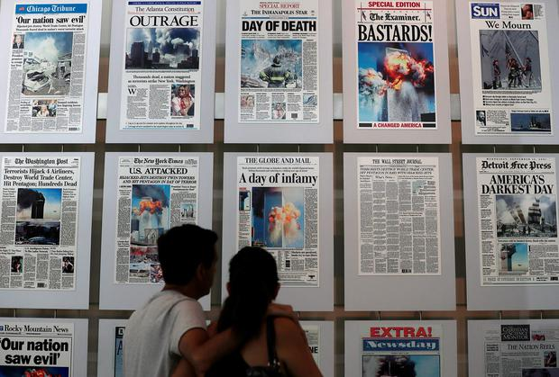 WASHINGTON, DC: The 9/11 Gallery at the Newseum in Washington, DC. Photo by Alex Wong/Getty Images