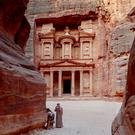 The city of Petra in Jordan is a Unesco World Heritage Site and a Wonder of the World