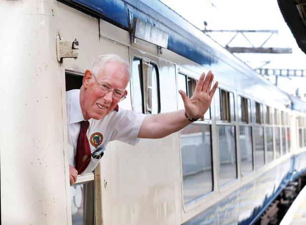Pictured is Jon Richardson of the Railway Preservation Society of Ireland. Photo: Sasko Lazarov/Photocall Ireland