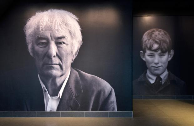 'Man & Boy'. Seamus Heaney HomePlace, Bellvaghy, Co. Derry. Photo: Pól Ó Conghaile