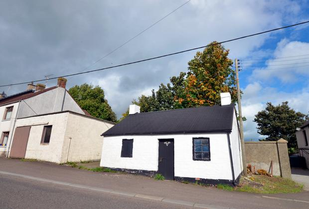Barney Devlin's Forge, as featured in Seamus Heaney's 'Door into the Dark'. Photo: Pól Ó Conghaile