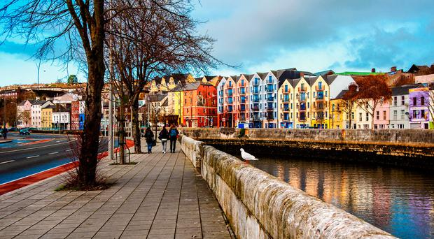 Compact Cork is a city for walkers.