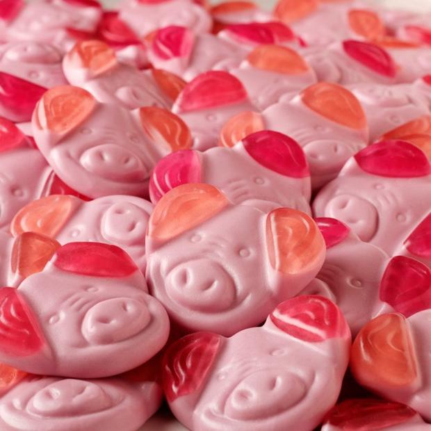 Percy Pigs... now available on BA.