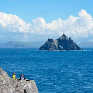 Little Skellig from Skellig Michael, Co. Kerry. Photo: Pól Ó Conghaile