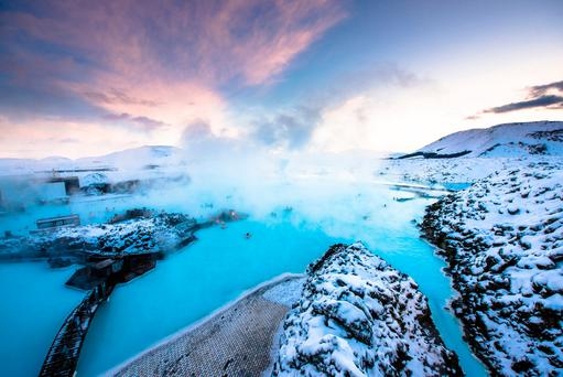 Blue Lagoon, Iceland. Photo: Deposit
