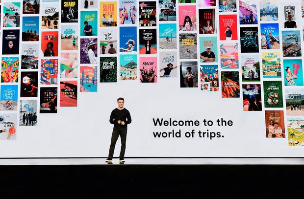 Airbnb CEO Brian Chesky launches Trips