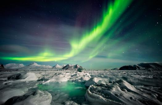 Northern Lights in Norway. Photo: Deposit
