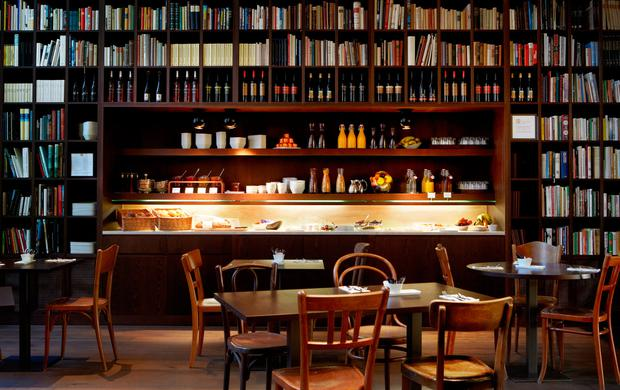 Wine Library at the B2 Boutique Hotel, Zurich