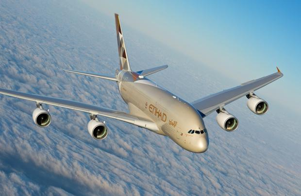 Up and away: Etihad Airlines