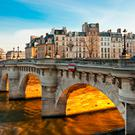 Pont neuf, Ile de la Cite, Paris. Photo: Deposit