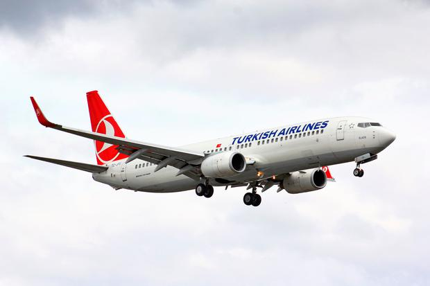 A Turkish Airlines Boeing 737. Photo: Deposit