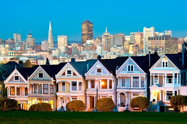 Alamo Square - San Francisco, USA. Photo: Deposit