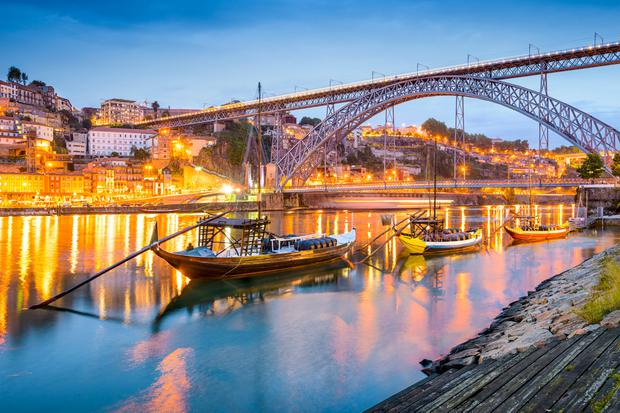 Porto, on the Douro River. Photo: Deposit