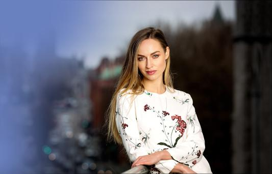 Wanderlust: Daniella Moyles still wants to visit new places. Photo: David Conachy