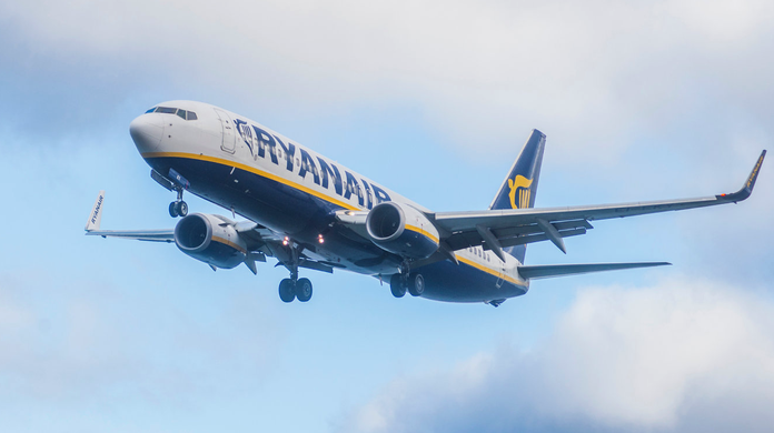 Ryanair reveals new 'slimline' seats - and celebrates with a