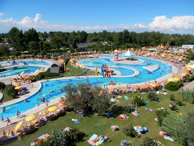 Kids will never get bored at Pra' delle Torri holiday park. Neither will parents