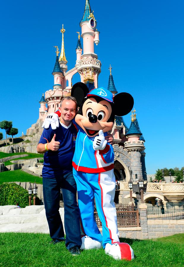 Shane Scanlon in Disneyland Paris