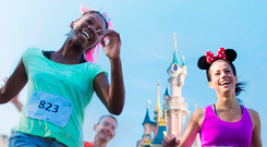 Disneyland Paris half-marathon. Photo: DisneylandParis.ie
