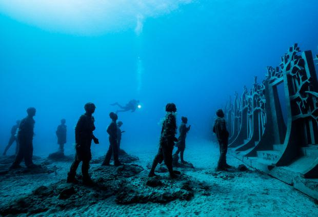 Museo Atlántico of Lanzarote. Photo: Jason deCaires Taylor / CACT Lanzarote