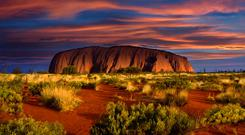 Uluru in Australia's Northern Territory