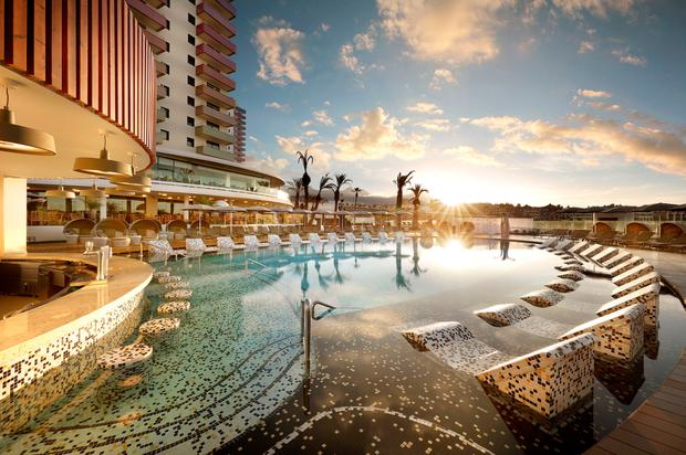 Tenerife has a new hard rock hotel here 39 s what it 39 s like to stay for Family hotels belfast swimming pool