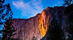 Yosemite 'firefall'. Photo: Deposit