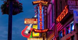 People in Nashville swear that there's only two types of music - Country and Western. But in New Orleans and Memphis you'll find Jazz and Blues