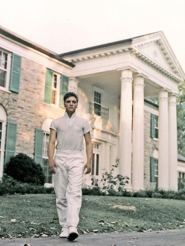 Elvis bought Graceland in 1957 for the grand amount of $102,500