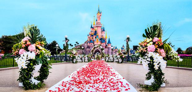 Weddings at Disneyland Paris
