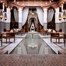The Royal Mansour in Marrakech was commissioned by King Mohammed VI of Morocco, who often hosts guests in its 53 private riads, situated in almost four hectares of gardens