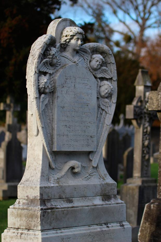 Seapoint Tragedy Grave at Glasnevin Cemetery
