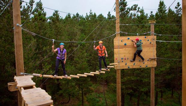 Zip n' Trek at Delphi Resort