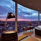 The Gravity Bar at Guinness Storehouse, fitted for its 'Night At' competition with Airbnb.