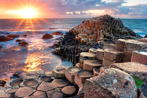 Giant's Causeway. Photo: Deposit