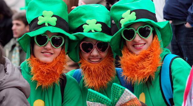 Keep that umbrella close - stereotypical Irish weather on the cards for St Patrick's weekend