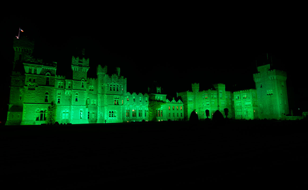 Ashford Castle goes green for St Patrick's Day