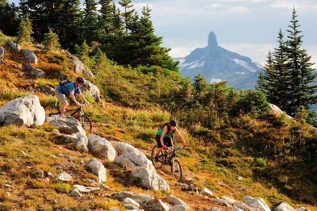 Mountain biking, Whistler, BC, CREDIT Tourism Whistler and Steve Rogers.jpg